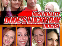 Dude's Lucky Day - Wife Craves Black